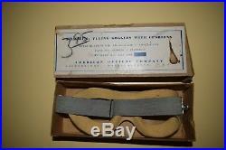 Paire de lunette de vol USAAF WW2