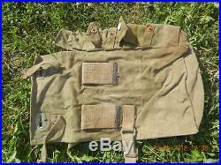 Paire de sacoches pionnier allemand sapeur ww2 1944/1945 wechmacht