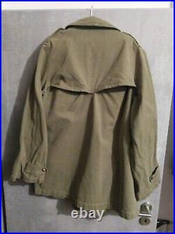 Paletot M38 DLM France 40 Vintage Jacket Japan denim 1940 WW2 Motocycliste