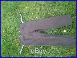 Pantalon allemand ww1 ww2 casque a pointe uniforme pickelhaube wk1 german hose