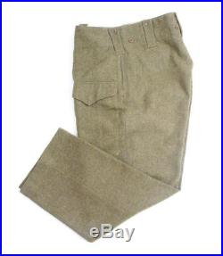Pantalon canadien -1943- CANADIAN ARMY WW2 (matériel original)
