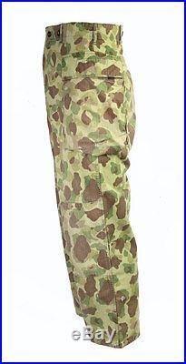 Pantalon hbt camouflé US-ARMY WW2 (matériel original)