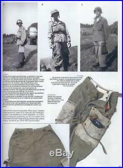 Pantalon rigger m43 US WW2 ardennes 1944 airborne paratrooper parachutiste