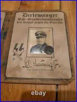 Papier allemand ww2 wk2 Sonderkommando