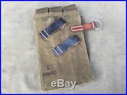 Porte magasins pour MP 40 1943 toile verte mint original