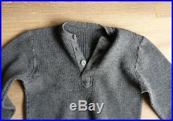Pull chandail allemand taille 2, SCHLUPFJACKE WEHRMACHT Original WW2