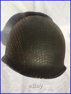 Rare Casque Us Parachutistes Américain 517 Pir. Ww2