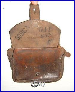 Rare Cartouchiere Porte Pistolet Mod. 1888 Modifiee 1936 France 1940 Wwii