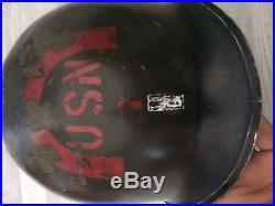 Rare Casque USN7 Ww2 Américain Us FFI allemand garanti Original Ww2 100%