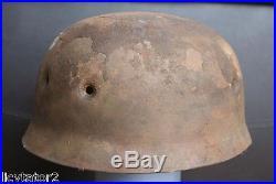 Rare! Casque allemand WW2Fallschirmjager M38ParachuteGerman helmet WW2