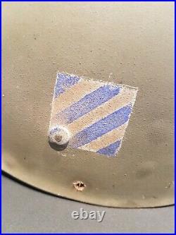 Rare LINER US WW2 bataille d'Alsace poche de Colmar 3 ème D. I