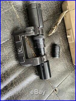 Rare Lunette Zf41 Avec Sa Boite Wwii Militaire Allemand