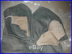 Rare Pantalon De Treillis All Wh Mle 1942