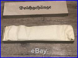 Rare beliere DolchgehÄnge Dague Wh Allemande Ww2 Neuve De Stock German 39/45
