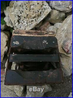 Rare caisse bois Allemande pour mine bondissante Smi35 ww2