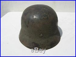 Rare casque allemand bétonné! / Mai 1940 / WW2