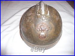 Rare casque modele 31 de chars