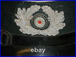 Rare coiffure schirmutze infanterie soldat Allemand WW2