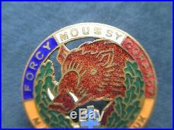 Rare insigne authentique Maquis MARIAUX 1944 FFI Libération Résistance Nièvre