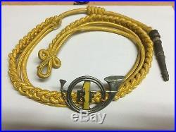 Rare insigne de casque Chasseurs 1 er BCP A B Paris émaillée jaune WW2