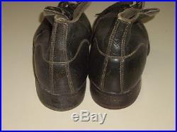 Rare paire de brodequins noir pour soldat Allemand PANZER 1944 WW2