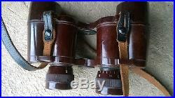Rare paire de jumelles en bakélite allemand WW2 / no casque