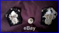Rare patte de col et bouton gendarmerie GRDMP