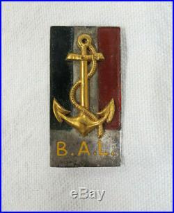 Rarissime insigne militaire BAL Brigade Anam Laos Hué 22/7/1942