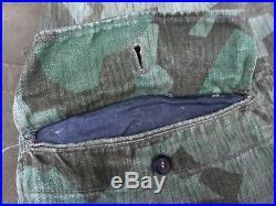 Relique de blouse camouflée feldivision luftwaffe Normandie 1944