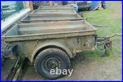 Remorque US Bantam pour Jeep Willys Ford Hotchkiss Dodge Peugeot P4