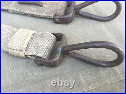 Sangle allemande WH porte-caisse MG toile verte originale WW2