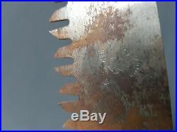 Scie pionner allemande WW2 militaria poche de falaise normandie 1944