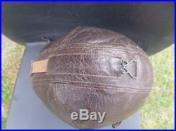 Serre tête, bonnet de vol pilote Allemand Luftwaffe 39/45 flying helmet lw