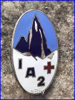Service de santé infirmerie alpine numero 2, attribué