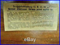 Sextant Allemagne 1923 Grave Au Nom Du Proprietaire Reichmarine Kriegsmarine