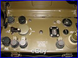 Signal Corps US Army, radio BC-1000, (SCR-300) avec alimentation véhicule, acces