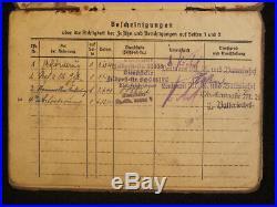 Soldbuch Kriegsmarine, Festung Lorient, Marine Flak Abteilung 807 MAFLA, WW2