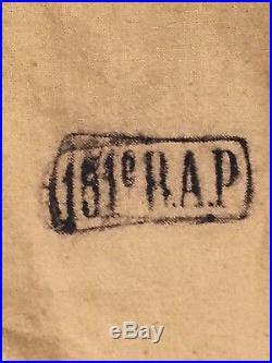 Superbe chemise mo 1935 datée et régimentée! Rare France 40 Maginot