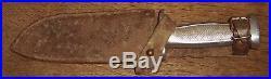 Superbe couteau Chantier de Jeunesse SABATIER JEUNE 1940 WW2 étui cuir parfait