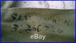Superbe tenue complète matriculé et identifié US 4th DI WW2 no casque allemand
