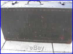 Superbe valise detector an prs 1 ww2