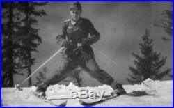 Surchaussures / Schneeüberschuhe Gebirgsjäger Wh 1942! Rare! Tbe+ Allemagne