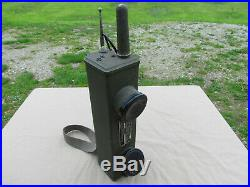 Talkie Walkie Us Bc-611-d Scr 536 Us Ww2 Original 1943 Handy Talkie