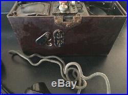 Téléphone Allemand WW2