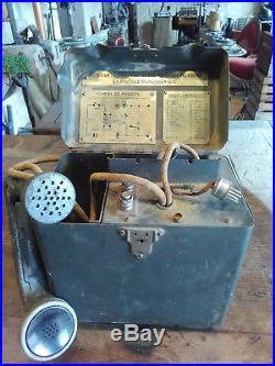 Téléphone Militaire 1932 TM 32 Saumur Military