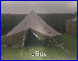 Tente américaine WW2 kaki bonne état