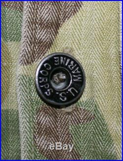 Tenue Originale Tap Indochine Veste Camo Usmc + Pantalon Peau De Saucisson