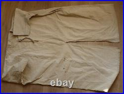 Tenue de GOUMIER en toile claire matriculée armée d'Afrique WW2 GOUM MAROC