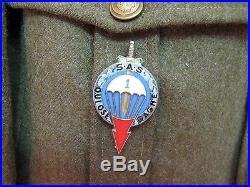 Tenue du 1er régiment de parachutiste d'infanterie de marine 1948. Indochine