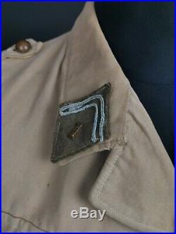 Tenue vareuse coloniale 1935 1 RTA Tirailleur Algérien Troupe Afrique Ww2 France